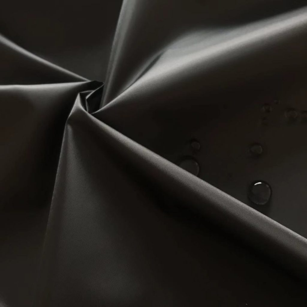 190t涤塔夫_涤纶190T涤塔夫涤丝纺PU皮膜涂层防水雨衣面料